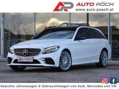 gebraucht Mercedes C200 d T AMG Line 9G-tronic - PANO / NAVI / AHK /