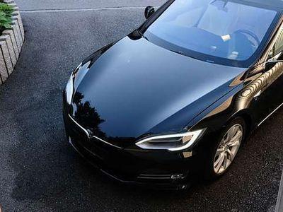 gebraucht Tesla Model S 100D Vollaustattung Weiß AP3 Limousine