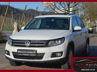 gebraucht VW Tiguan 2,0 4Motion Sky DSG+XENON+NAVI+Panoramad... SUV / Geländewagen