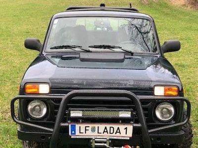 gebraucht Lada Taiga Pritsche Sondermodel!!!! SUV / Geländewagen