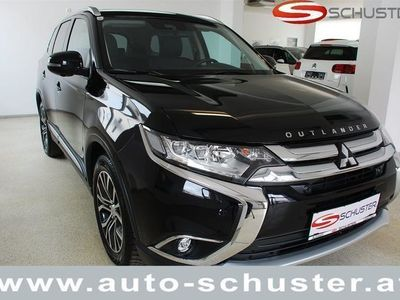 gebraucht Mitsubishi Outlander 2,2 DI-D 4WD AT Diamond Led.Schwarz 17