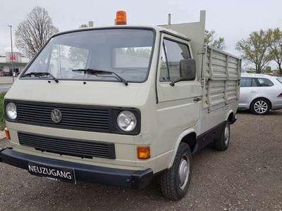 gebraucht VW T3 Kombi PRITSCHE !! 2.BESITZ !! DOPPELBOAURDWAND !! TOP !!