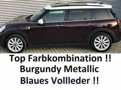 gebraucht Mini Cooper D Clubman Aut. Viel Extra-Tolle Farbe-Blaues Leder !!