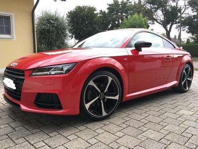 gebraucht Audi TT TFSI,S-tron,quattro,3xS-line,Navi,LED,5Jahre-Garan Sportwagen / Coupé