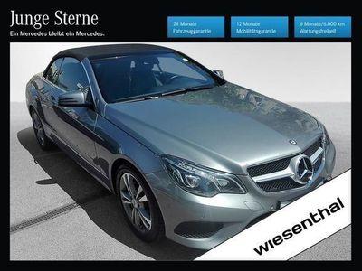 gebraucht Mercedes E200 E-KlasseAut. Cabrio / Roadster,