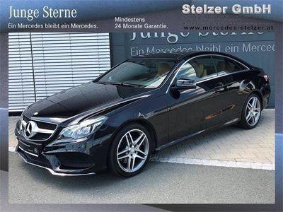brugt Mercedes E220 COUPé AMG Line, PSHD, Navi
