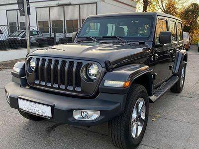 gebraucht Jeep Wrangler Unlimited Sahara 2,0 GME Aut. SUV / Geländewagen