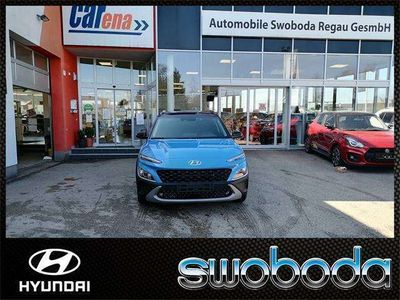 gebraucht Hyundai Kona 1,6 GDI Hybrid Trend Line DCT Aut. SUV / Geländewagen