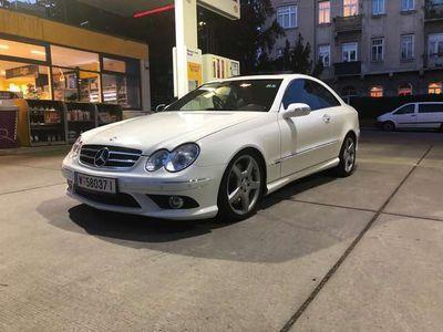 gebraucht Mercedes CLK320 Avantgarde Sport AMG CDI Aut.