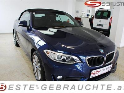 used BMW 218 d Cabrio AT