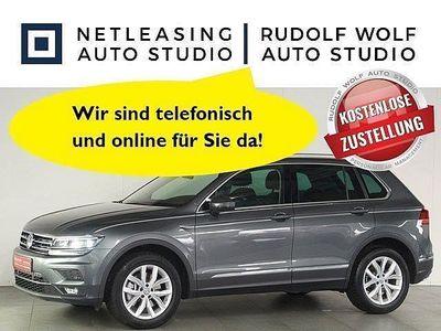 gebraucht VW Tiguan 2.0 TSI DSG 4Mo. Highline AHK TOP-PAKET A Klima
