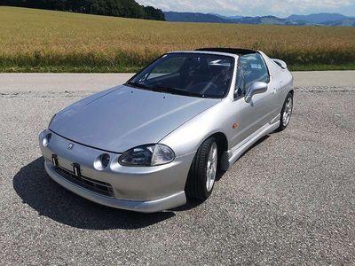 gebraucht Honda CR-X CRX / CR-X1,6 ESI SRS ABS Daytona Sportwagen / Coupé