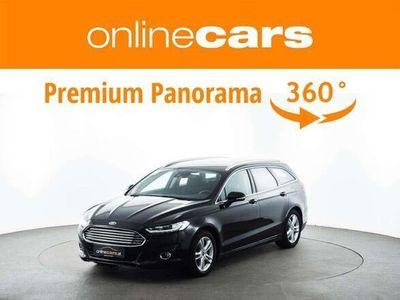 gebraucht Ford Mondeo Traveller 2,0 TDCi Aut. NAVI ASSISTENZ R... Kombi / Family Van