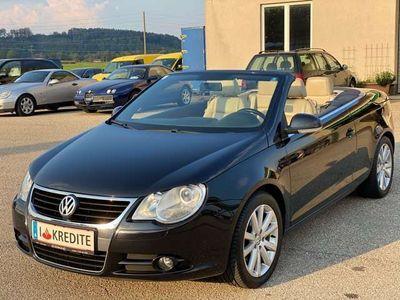 gebraucht VW Eos 1,6 FSI * Cabrio * Leder * Pickerl Neu * 1.Besitz