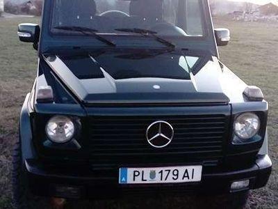 gebraucht Mercedes G270 CDI SUV / Geländewagen
