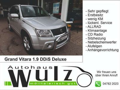 gebraucht Suzuki Grand Vitara 1,9 VX-E Deluxe DDiS