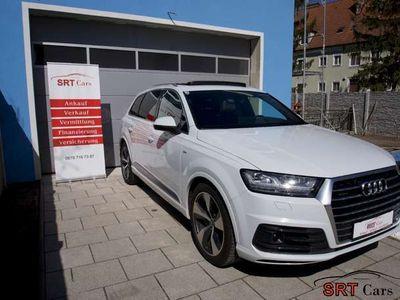 gebraucht Audi Q7 3,0 TDI quattro *Panoramaglas* 7 SITZER* AHK* Standheiz.* S line* VOLL*NP: 118.000€ SUV / Geländewagen