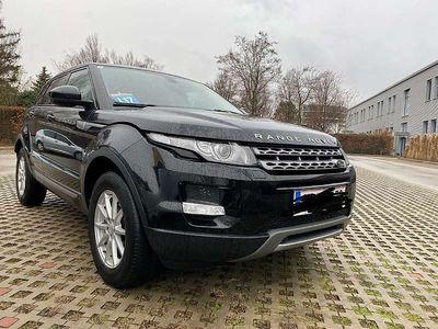 gebraucht Land Rover Range Rover evoque 2,2TD... NAVI / AUTOMATIK / MERIDIAN SOUND ANLAGE SUV / Geländewagen