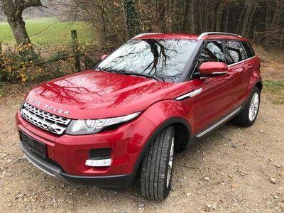 gebraucht Land Rover Range Rover evoque Prestige 2,2 SD4 Aut.