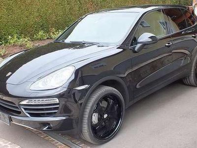 gebraucht Porsche Cayenne II S Hybrid, 22 Zoll Alu, Schiebedach, AHK 3,5t Le