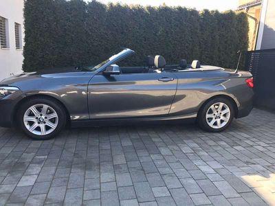 gebraucht BMW 218 2er-Reihe d Cabrio Cabrio / Roadster