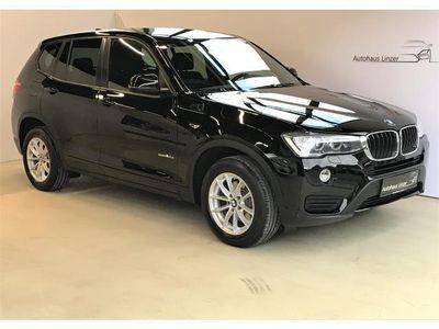 gebraucht BMW X3 xDrive 20d Aut.*NAVI*Teilleder*AHK* SUV / Geländewagen