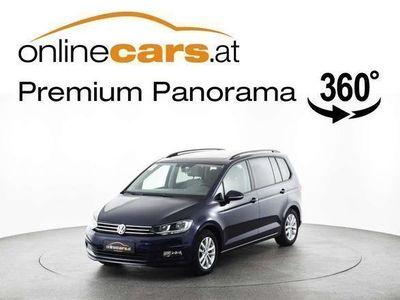 gebraucht VW Touran Comfortl. 2,0 TDI 7-SITZE OPEN-SKY Kombi / Family Van,