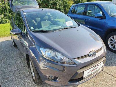 gebraucht Ford Fiesta 1.25 Benziner Bj 2011 Klein-/ Kompaktwagen