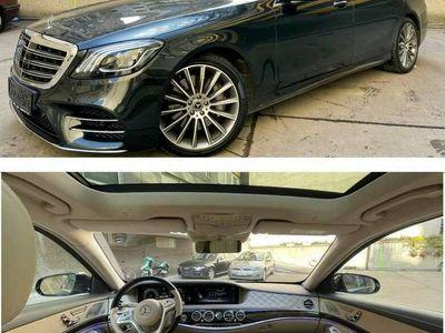 gebraucht Mercedes S350 S-Klassed Lang 4MATIC DESIGNO ** LP. 177.000 EURO ** TRAUM AUSSTATTUNG Limousine