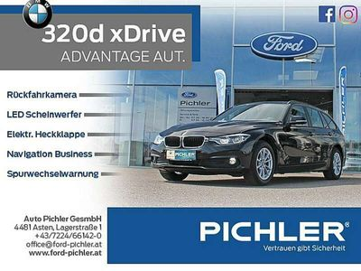 gebraucht BMW 320 320 d xDrive Touring Advantage Aut. NAVI/LED/RFK
