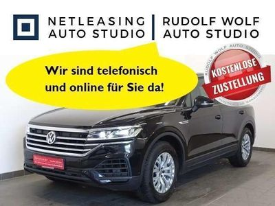 gebraucht VW Touareg 3.0 TDI V6 422,- EURO mtl.* AHK LUFT KAM Navi