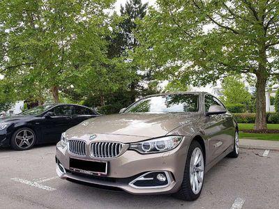 gebraucht BMW 430 4er-Reihe xd Modern, top Zustand, Memory Lenkrad Heizung! Limousine