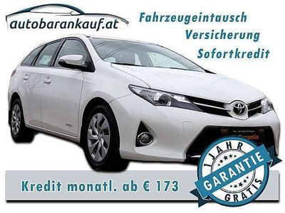 gebraucht Toyota Auris TS 1,4 D-4D Active Kombi / Family Van