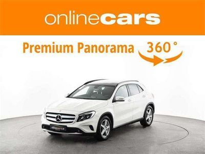 gebraucht Mercedes GLA220 CDI 4MATIC Aut. R-KAMERA NAVI OPEN-SKY