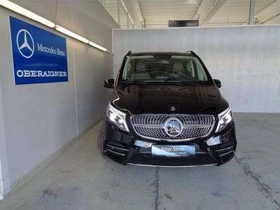 gebraucht Mercedes 300 V-Klasse Vd 4MATIC lang Exclusive Aut. Kombi / Family Van,