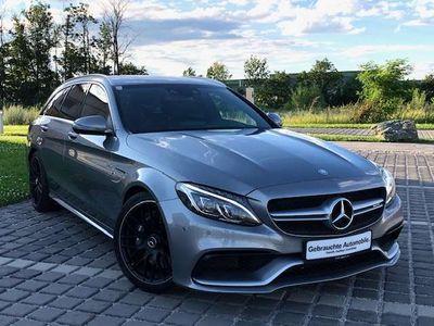 gebraucht Mercedes C63 AMG C-KlasseAMG T Aut. **NUR 34.000KM, NEUWERTIG** Kombi / Family Van