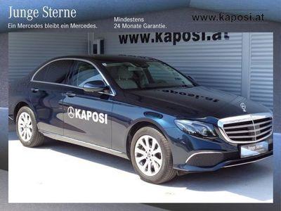 used Mercedes E220 E-Klasse4MATIC Austria Edition Exclusive Aut. Limousine,