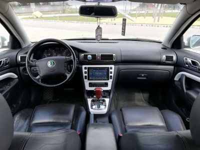 gebraucht Skoda Superb Elegance 2,5 V6 TDI PD Aut.