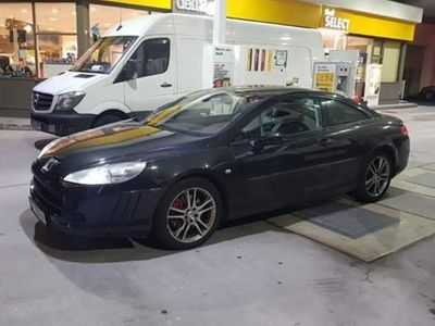 brugt Peugeot 407 Coupe Exclusive 2,7 V6 HDI Tiptronic