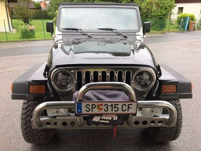 gebraucht Jeep Wrangler Tj 2,5 SUV / Geländewagen