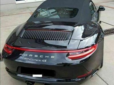 gebraucht Porsche 911 Carrera 4S Cabriolet Cabrio PDK Sportabgas Chrono 14 Wege Ganzleder etc. / Roadster