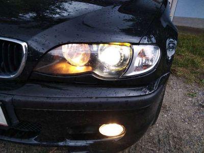 gebraucht BMW 320 3er-Reihe E46 d m packet Limousine,