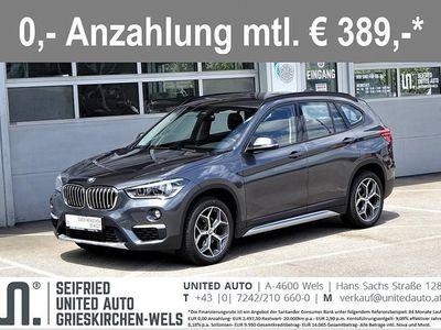 used BMW X1 sDrive18d xLine*Navi*LED*Sportsitze*Anhängerk. ab