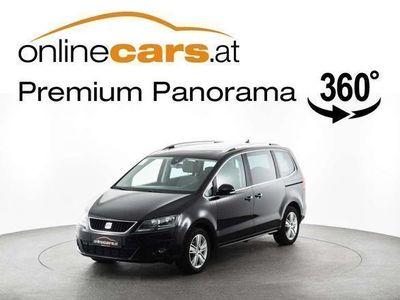 used Seat Alhambra Style 2,0 TDI 7-SITZER NAVI AHK RFK AS... Kombi / Family Van,