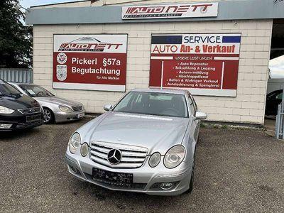gebraucht Mercedes E200 E-KlasseKompressor Elegance Sport Exterieur *Navi*Rostfrei Limousine