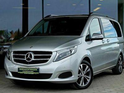 gebraucht Mercedes V220 d kompakt Avantgarde Aut. LED, Leder, 7-Sitzer ...