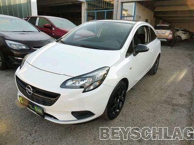 gebraucht Opel Corsa 1,2 Ecotec Black & Silver Limousine,