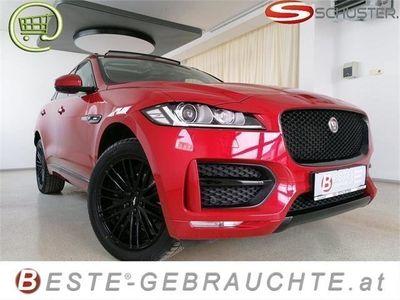 gebraucht Jaguar F-Pace 20d AWD R-Sport *Top-Optik*