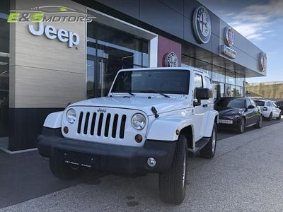 used Jeep Wrangler Sahara 2,8 CRD Aut. inkl. Softtop