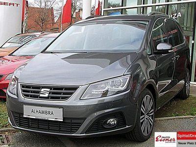 gebraucht Seat Alhambra Executive 2,0 TDI CR DSG Kombi / Family Van,